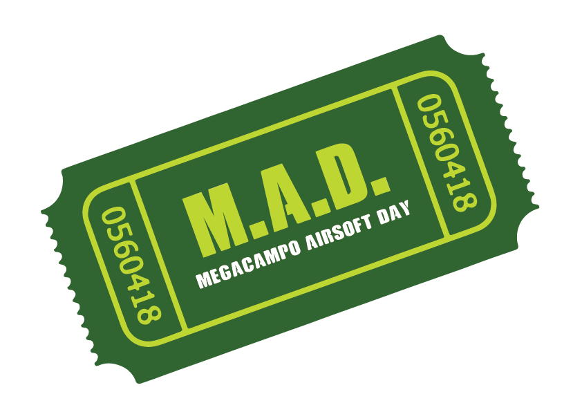 Entrada Mega Airsoft Day (4º Domingo)